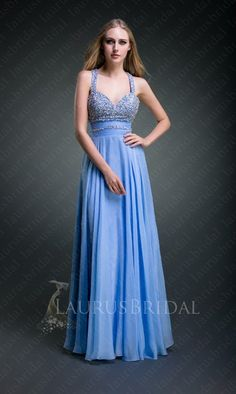 long prom dresses with straps | ... Straps Sweetheart Sequins Belt A-line Long Prom Dress : LaurusBridal