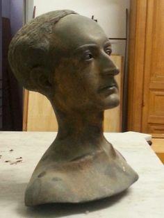 Salvatore Quasimodo: Ritrovato il busto di Quasimodo realizzato da Messina