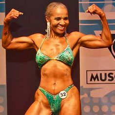 """Ernestine Shepherd, the """"world's oldest female bodybuilder,"""" just turned 80. No, seriously, this woman is 80. Years. OLD!"""
