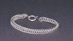 Armbånd i slangekjede. 935 sølv.