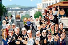 Consegue adivinhar quem são estes génios de Silicon Valley?