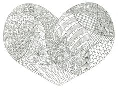 Find yourself in the holiday spirit this year with some free advanced Valentine's Day adult coloring! You can simultaneously unwind and fall in love with these adult coloring pages. Printable Coloring Pages, Adult Coloring Pages, Coloring Books, Valentines Day Coloring, Heart Illustration, Valentine's Day Greeting Cards, Love Valentines, Free Coloring, Embroidery Patterns