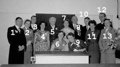 Asten : Personeel en adviseurs van de RK huishoudschool Genoveoa van Brabant bij de opening van de school: 1. Paul Eijsbouts; 2. ?; 3. Will van Bussel (gymleraar); 4. Jeanne Gerolds; 5. Rikus Gitzels; 6. Ton Stril-Arts; 7. Mien van Huyseling (directrice); 8. Meester Gerard (Gaston) Remery; 9. Til Berkers-Vossen; 10. Andre Remery (oudste zoon Gerard met nr 8 en financiële en administratieve kracht).  Fotopersbureau Het Zuide    3/7/1956  Wie is 2?