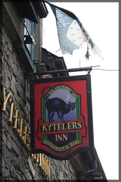 Kytelers Inn, Kilkenny, Ireland. Dame Alice Kyteler was supposed to be a witch and this is her home. A very famous Kilkenny pub.
