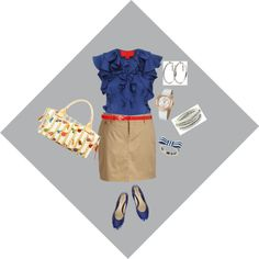Smart Casual, created by #irenesimon on #polyvore. #fashion #style Z Spoke Old Navy