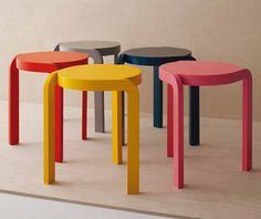 Spin stool by Staffan Holm