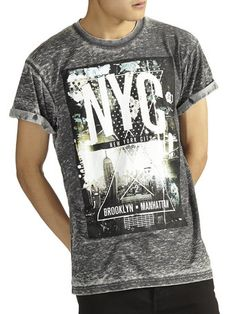 Black burnout nyc t-shirt - that should be mine!