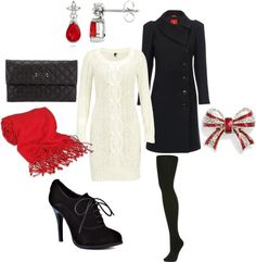 """""""Cozy Christmas outfit"""" by cassbass519 on Polyvore"""