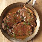 Biefstuk met port en mosterd - recept - okoko recepten