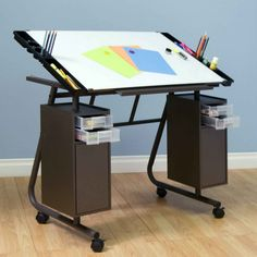 Furniture Contemplative Fully Adjustable Draftsman Drafting Table Or Drawing Board With Collapsible Base Reputation First