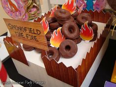 The Simpsons Birthday Party Ideas | Photo 3 of 17 | Catch My Party