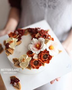 . Done by my student (앙금플라워 케익) Some of flowers are made of Better's special tip   Beanpaste flowers on Rice cake U can learn Better's real flowers style :) . (베러 전문가반/Professional class) www.better-cakes.com  Any inquiries about BETTER CLASS, Plz contact me through LINE or Email as Mailbettercakes@naver.com Linebetter_cake FacebookBetter Cake Kakaotalkleesumin222  #buttercream#cake#베이킹#baking#bettercake#like#버터크림케이크#베러케익#cupcake#flower#꽃#sweet#앙금플라워케이크#koreabuttercream#wi...