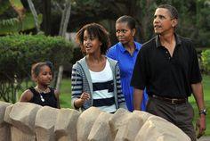 Obama Family Hawaiian Vacation | Essence.com