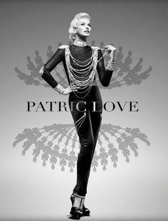 The Patric Love Spring 2014 Campaign Stars Linda Evangelista #hollywood #hair trendhunter.com