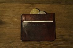 Wallet for coins custommade via Nabamu Design. Click on the image to see more!