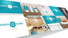 Bubble Waffle Milktea + Waffle House #brand #design #logo #packaging #store #merchandise #beesandvultures