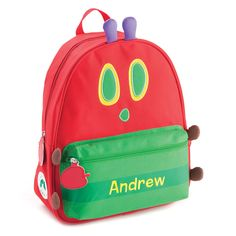 ed610ef30a0a Personalized Very Hungry Caterpillar Backpack - Back To School - Kids