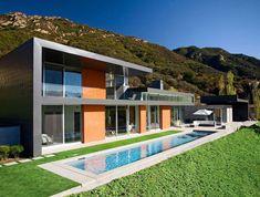 Moderna Casa en California frente a un Paisaje Ininterrumpido