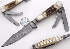 "9.00"" Custom Made Beautiful Damascus Steel Bavarian Hunting Knife  (AA-00109-1) #UltimateWarrior"