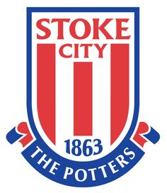Stoke City FC, Premier League, Stoke-on-Trent, Staffordshire, England Bobby Charlton, Manchester United, Manchester City, Football Team Logos, Soccer Logo, Sports Logos, Football Soccer, Soccer Teams, Premier Football