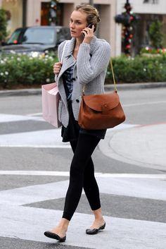 diane kruger casual style | Street Style: Diane Kruger's Best Off-Duty Outfits | The Front Row ...