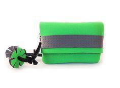 Bag tassel charm green summer bag bag with tassel charm
