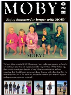 Check out MOBY H2O latest newsletter