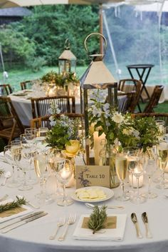 #tablescapes  Photography:   Read More: http://www.stylemepretty.com/2009/01/15/real-wedding-kaitlin-and-will-viii/