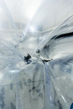On Space Time Foam, 2012 - Tomás Saraceno