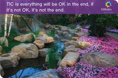 TIC is...everything will be OK in the end. If its not OK, it's not the end