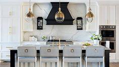 New Kitchen Marble Black Hoods 35 Ideas Kitchen And Bath, New Kitchen, Kitchen Ideas, Brass Kitchen, Basement Kitchen, Kitchen Colors, Art Deco Kitchen, Kitchen Black, Kitchen Sinks