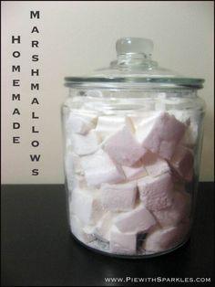 Alton Brown's - Homemade Marshmallows