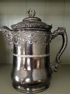 Victorian Fancy Coffee Pot