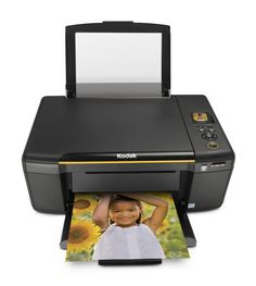 Kodak ESP C310 All-In-One Printer. Affordable, high quality every day printing. Uncompromising quality at an unbelievable value. High quality photos and documents. Print photos directly from your iPhone, iPod Touch, or iPad device with the free KODAK Pic Flick App. Utilizes high-quality, low-cost pigment-based KODAK 30 Series Ink Cartridges. Ideal for everyday printing with easy Wi-Fi setup to connect to your wireless home network. One-touch print, copy, scan functionality. Uses less...