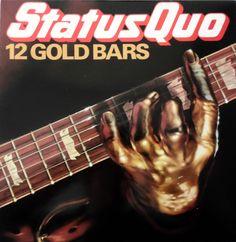 STATUS QUO 12 Gold Bars UK 1980 VINYL 33 LP ALBUM ROCK 70s QUOTV1 FREE S&H
