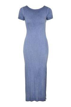 PETITE Twist Back Maxi Dress