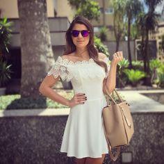 Tchau SP! ☀️ De hoje, vestido @lovlity | #lookoftheday #ootd #blogtrendalert