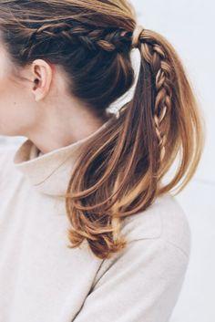 A gente pode derreter nesse verãozão do Brasil, mas não precisa perder junto o estilo, né? kkk Esses penteados (uma seleção do Pinterest para o GE com os mais populares no Brasil em 2016) são perfeitos pra isso: charmosos, fresquinhos, e ainda fáceis de fazer – os mais complicados talvez sejam os com as boxer braids, …