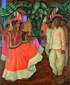 """A Diego Rivera painting has sold privately for $15.7 million, setting a world record price for any Latin American work of art, Phillips auction house said Friday.   The price for """"Dance in Tehuantepec"""" nearly doubles the figure paid at auction last week for a painting by Frida Kahlo, Rivera's wi..."""