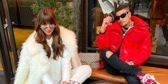 """Τα δημόσια ερωτικά πειράγματα του Snik στην Ηλιάνα Παπαγεωργίου και η """"Μαρία η Άσχημη"""" Kai, Fur Coat, Jackets, Fashion, Down Jackets, Moda, La Mode, Fasion, Fashion Models"""