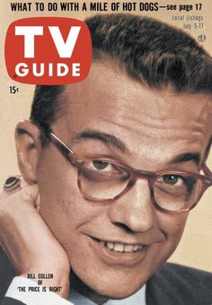 "TV Guide, July 5, 1958 - Bill Cullen of ""The Price Is Right"""