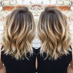 Flawless Balayage by Laura Ashley at Magnolia Jane! weeks in advance) For bookings:… Cabelo Ombre Hair, Baliage Hair, Blonde Hair With Highlights, Brown Blonde Hair, Medium Hair Styles, Curly Hair Styles, Mom Hairstyles, Hair Color And Cut, Hair Affair