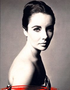 Elizabeth Taylor by Richard Avedon. American film actress and AIDS activist. An amazing women who led an amazing life.