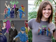 Centennial Avengers from TShirt Laundry
