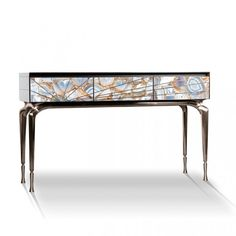 NATURES'S JEWEL BOX FROM CAPSULE COLLECTION | A visionnaire console table with drawers for modern home decors | http://modernconsoletables.net/