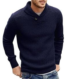 Men`s fall&winter fashion staple - The Pullover Sweater