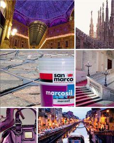 San Marco incontra i #colori di #Milano Prodotto: Marcosil http://www.san-marco.com/ita/prodotti/marcosil-domus.php