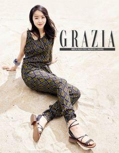 "Shin Hye Sun Visits the Beach in Style in ""Grazia"" Photoshoot Beautiful Models, Beautiful Actresses, Princess Style Wedding Dresses, Grazia Magazine, Korean Actresses, Korean Actors, Female Stars, Celebs, Celebrities"