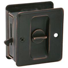 "Schlage 991 1-3/4"" x 2-1/4"" Privacy Pocket Artisan Sliding Door Lock, Aged Bronze by Schlage Lock Company, http://www.amazon.com/dp/B000N38VP0/ref=cm_sw_r_pi_dp_3YPgsb0GW9GM9"