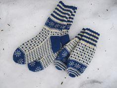 Stjerne over Island, votter og sokker